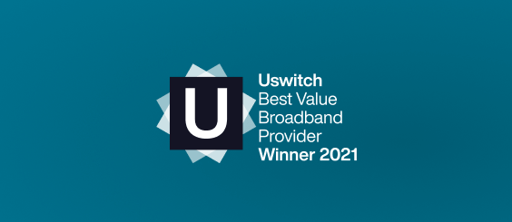 Uswitch Best Value Pay Monthly logo 2020