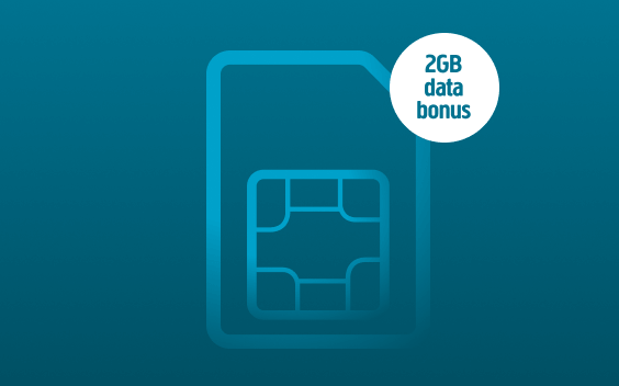 2GB data bonus